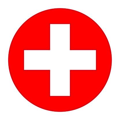 bunte rote medizinische cross symbol stock vektor art und mehr bilder von  additionstaste - istock  istock