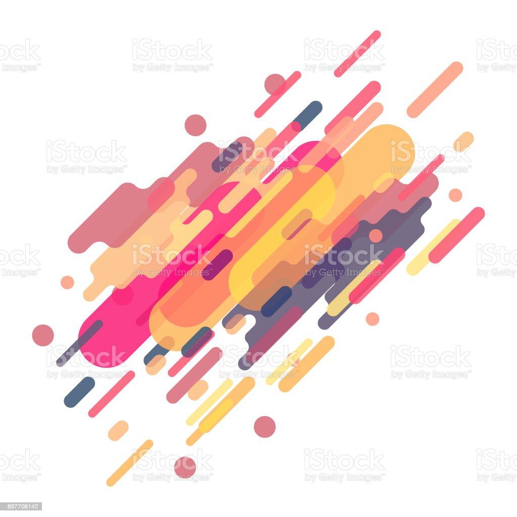 Fondo colorido retro - ilustración de arte vectorial