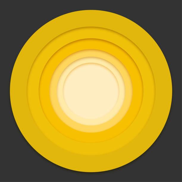 stockillustraties, clipart, cartoons en iconen met kleurrijke ringen - digitaal samengesteld beeld