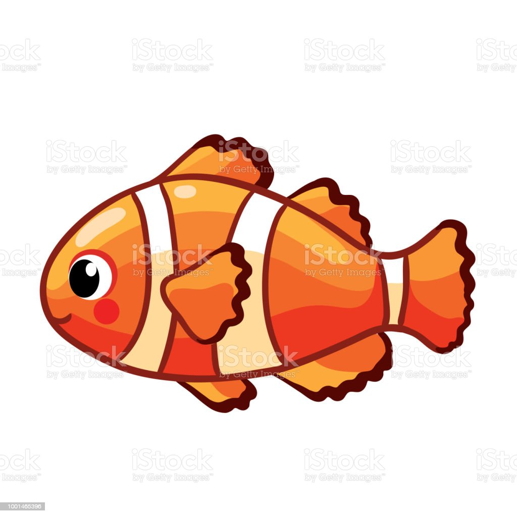 Colorful Sea Fish Stock Vector Art & More Images of Animal ...