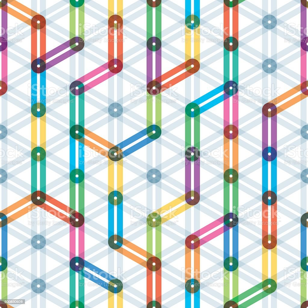 Colorful seamless background. vector art illustration