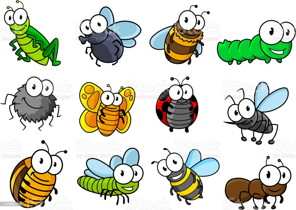 Cartoon insect Stock Photos and Images. 40,396 Cartoon ...