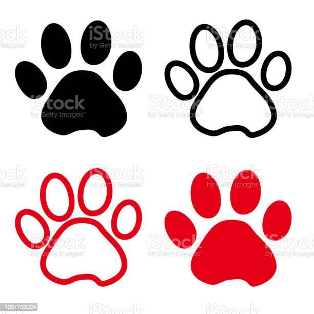 Colorful set of silhouette animal paw track outline and flat design vector id1037703024?b=1&k=6&m=1037703024&s=612x612&h=mw1eswx3j2h8j30pltzewagjowisumjle wrhx3p7tc=