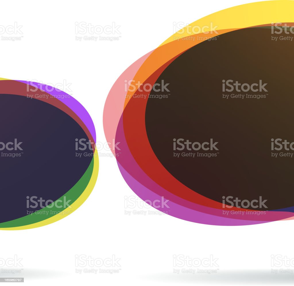 Colorful speech bubbles, one being bigger than the other royalty-free colorful speech bubbles one being bigger than the other stock vector art & more images of arts culture and entertainment