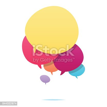 istock Colorful speech bubbles 544332674