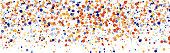 colorful sphere particles design element