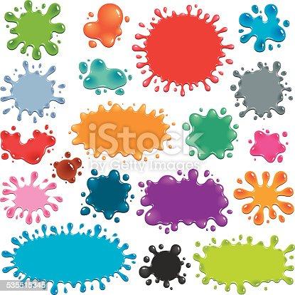 istock Colorful Splats 535515345