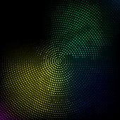 colorful spot technology background