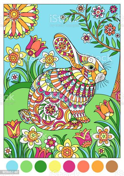 Colorful spring rabbit for template or cover coloring book vector id920053162?b=1&k=6&m=920053162&s=612x612&h=ue1d5btfm17uv2lr9q0xp4eb 7ywye1lyyqcnehpnqw=