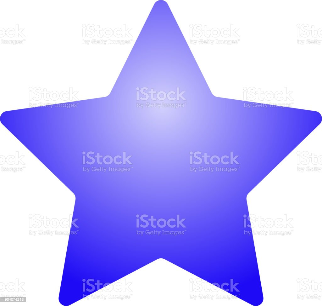Colorful star - Royalty-free Abstract stock vector