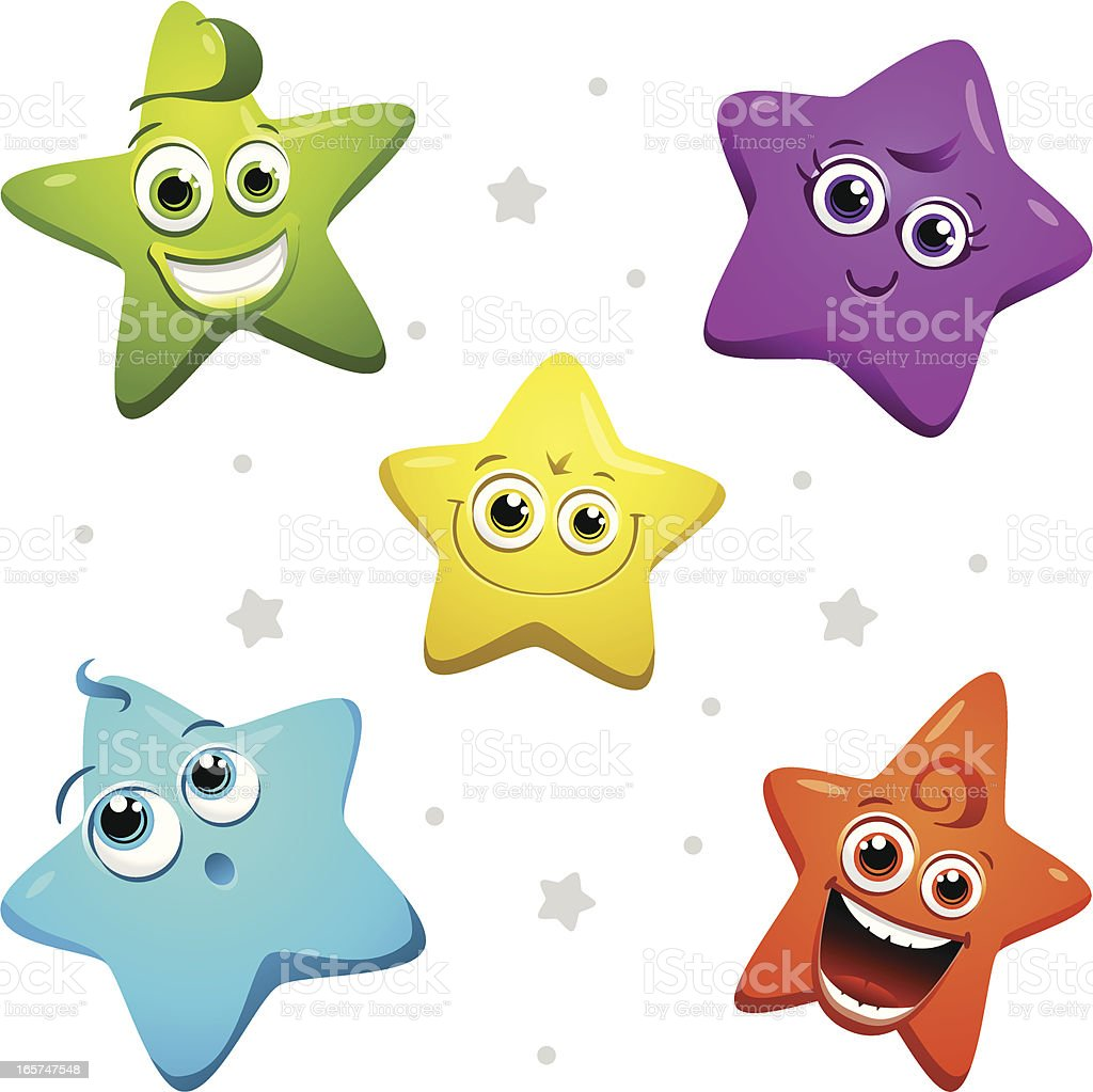 Colorful Stars Stock Illustration - Download Image Now ...