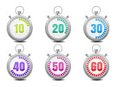 Colorful Stopwatches