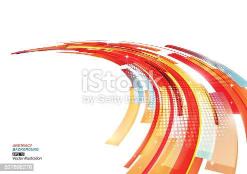 istock Colorful Stripe Abstract Background 527895276