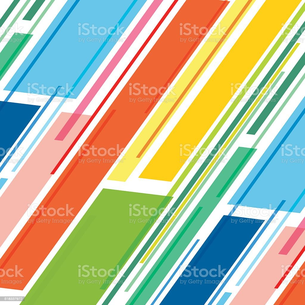 colorful stripe pattern design vector art illustration
