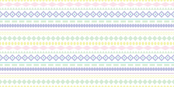 Colorful stripe seamless repeat pattern background.