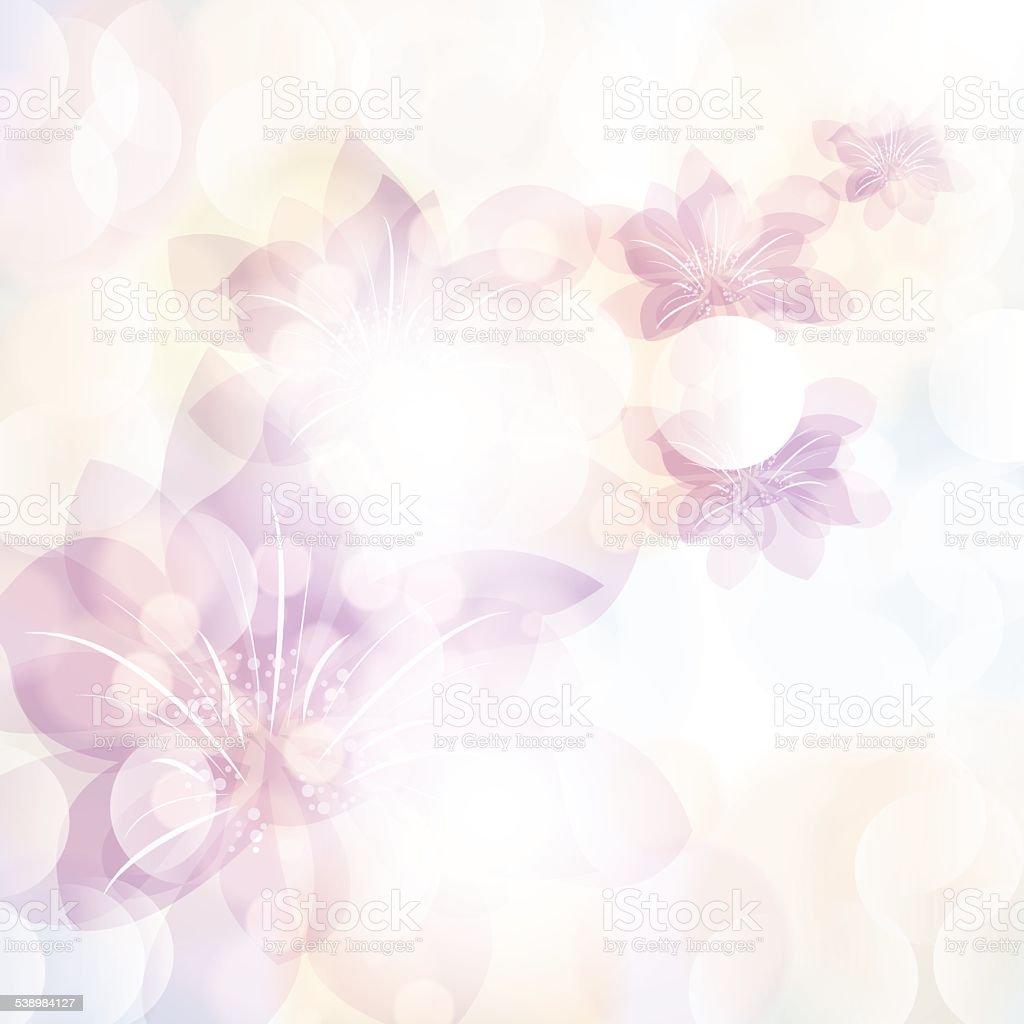 春夏の背景にカラフルな花柄 のイラスト素材 538984127 | istock