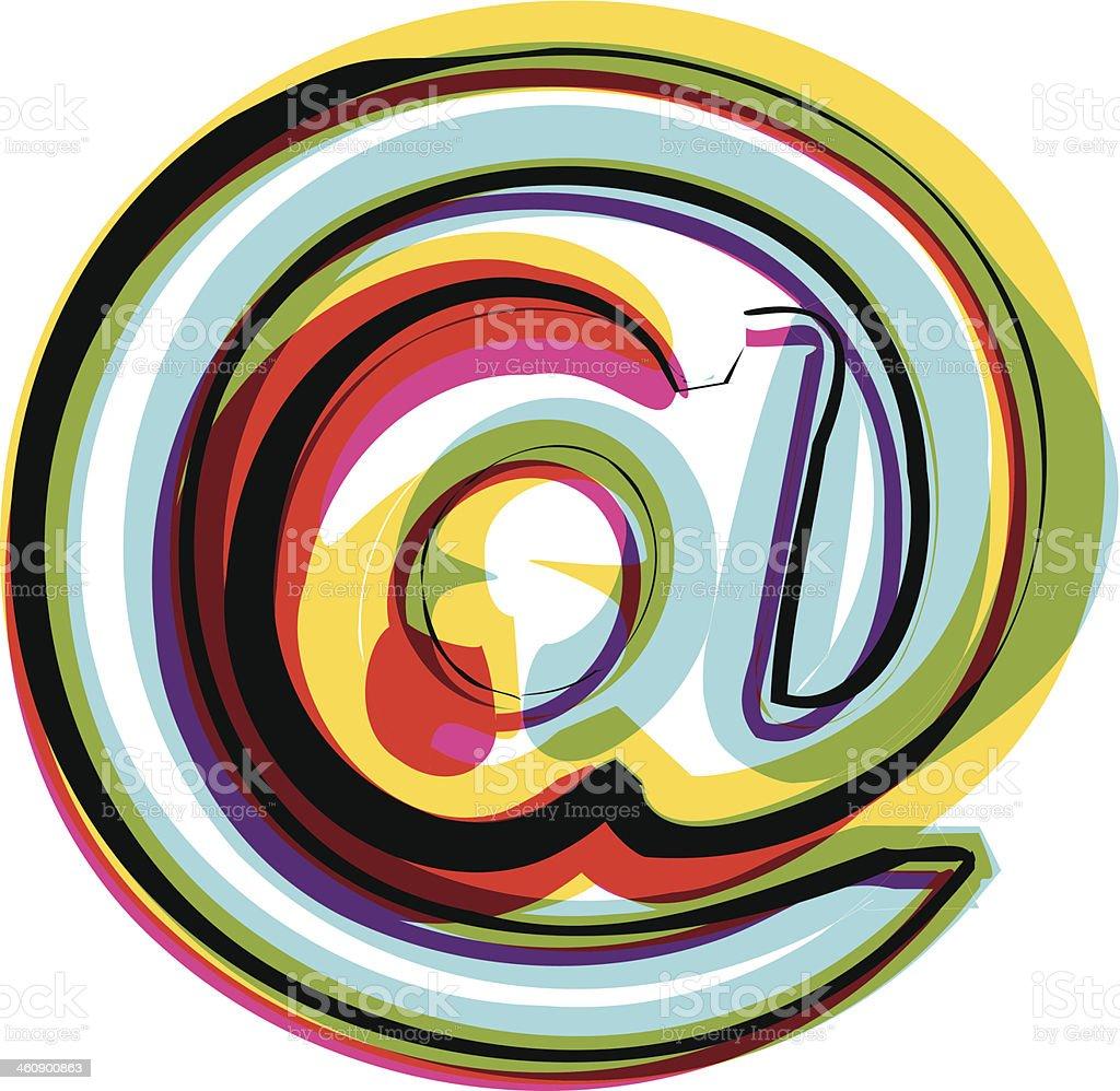 Symbole de couleur - Illustration vectorielle