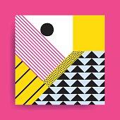 istock Colorful trend  geometric pattern 578266992