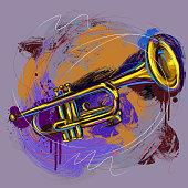 istock Colorful Trumpet 150488266