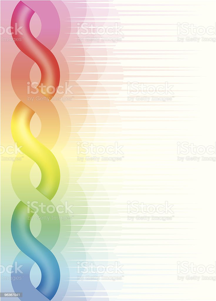 Colorful twist for Backcloth Use. royalty-free stock vector art