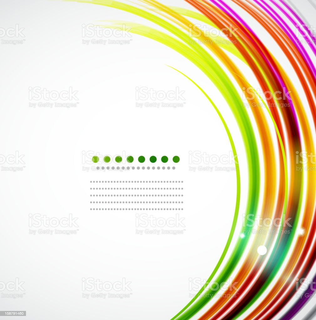 Colorful vector background vector art illustration