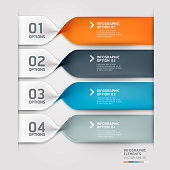 Modern spiral infographics options banner template. can be used for workflow layout, diagram, step options, number options, web design template.