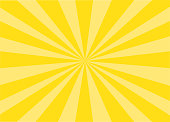 Colorful Vector Sunburst