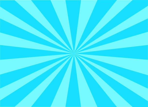 カラフルなベクトルサンバースト - 朝日点のイラスト素材/クリップアート素材/マンガ素材/アイコン素材