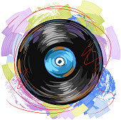 Colorful Vinyl plate/record