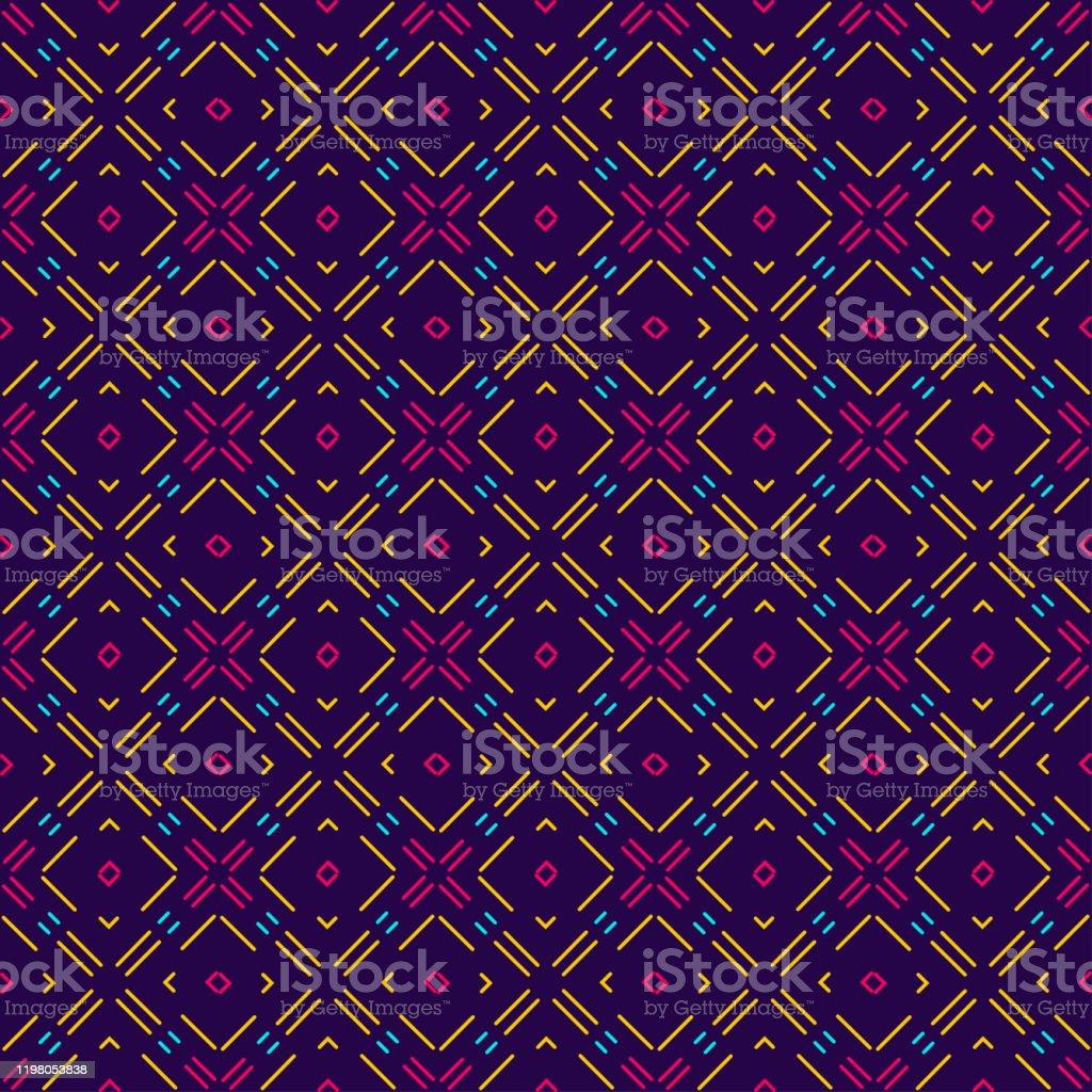 カラフルな壁紙のテクスチャシームレスなパターン幾何学模様の抽象的