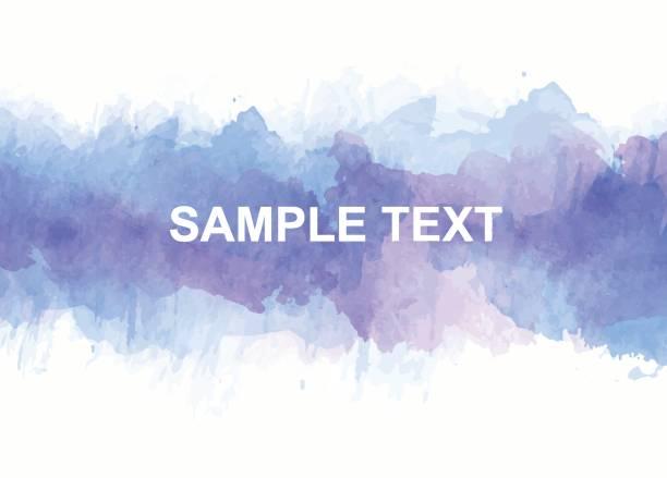 bunten aquarell akzenten - wasserfarben hintergründe stock-grafiken, -clipart, -cartoons und -symbole
