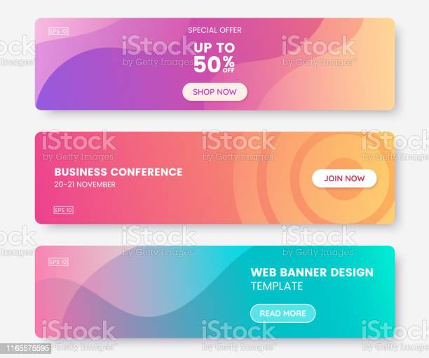 Colorful web banner with push button collection of horizontal with vector id1165575595?b=1&k=6&m=1165575595&s=612x612&h=z3czqczavhiir30vm11q7ta6tkonv ftwfjbfbr wo4=