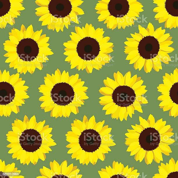 Colorful yellow sunflowers seamless pattern vector id585312664?b=1&k=6&m=585312664&s=612x612&h=jmyewxorufnkxau7qfe1yd2ongs7uq dqdszgqp47qg=
