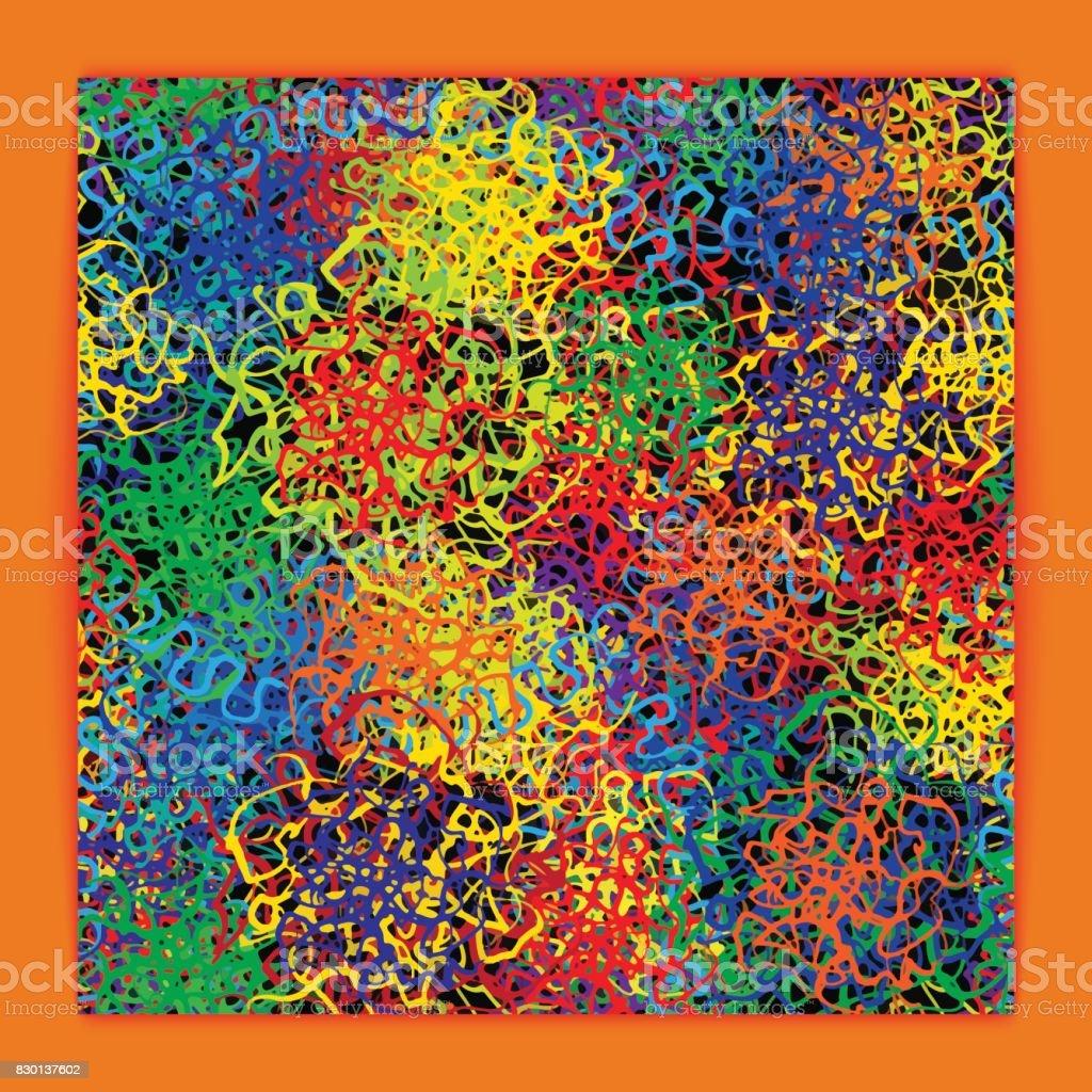 Colorfull Background vector art illustration
