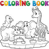 Coloring book African fauna 2