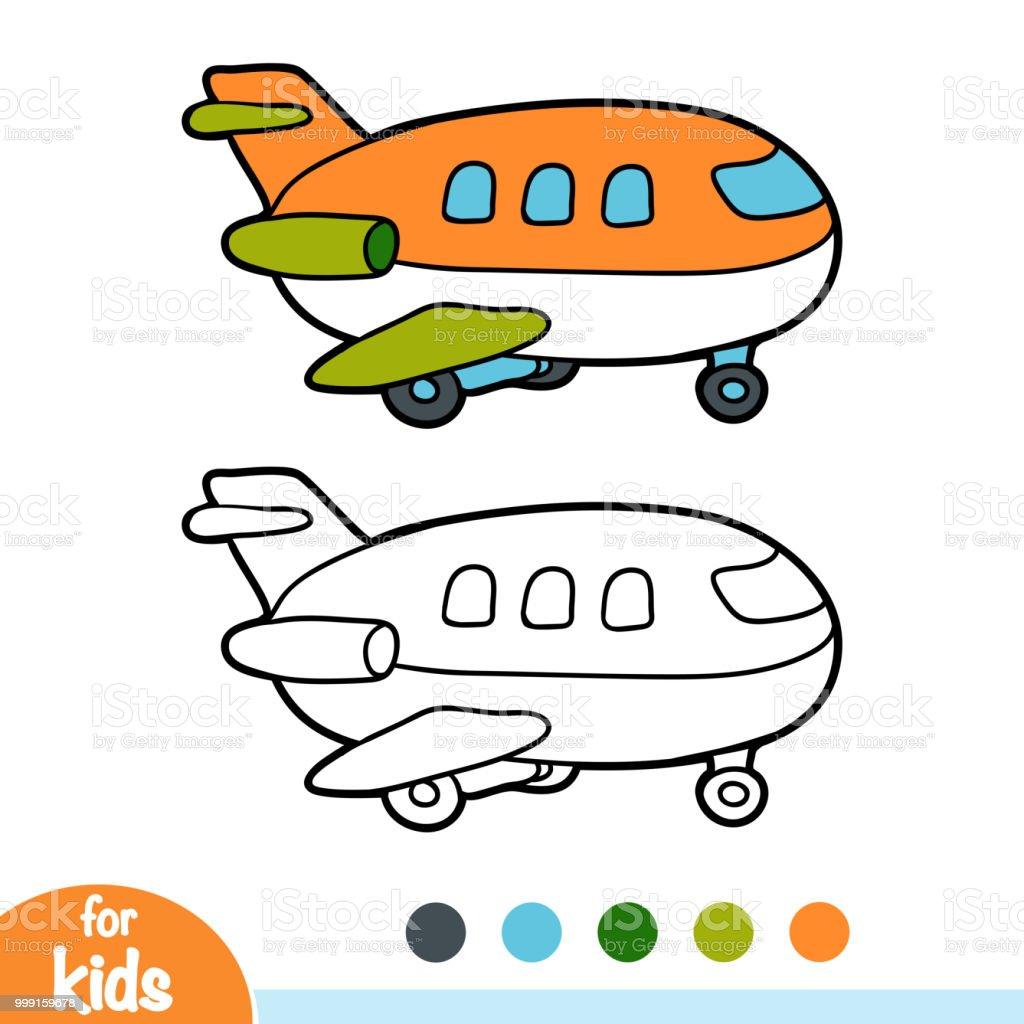 塗り絵飛行機 おもちゃのベクターアート素材や画像を多数ご用意