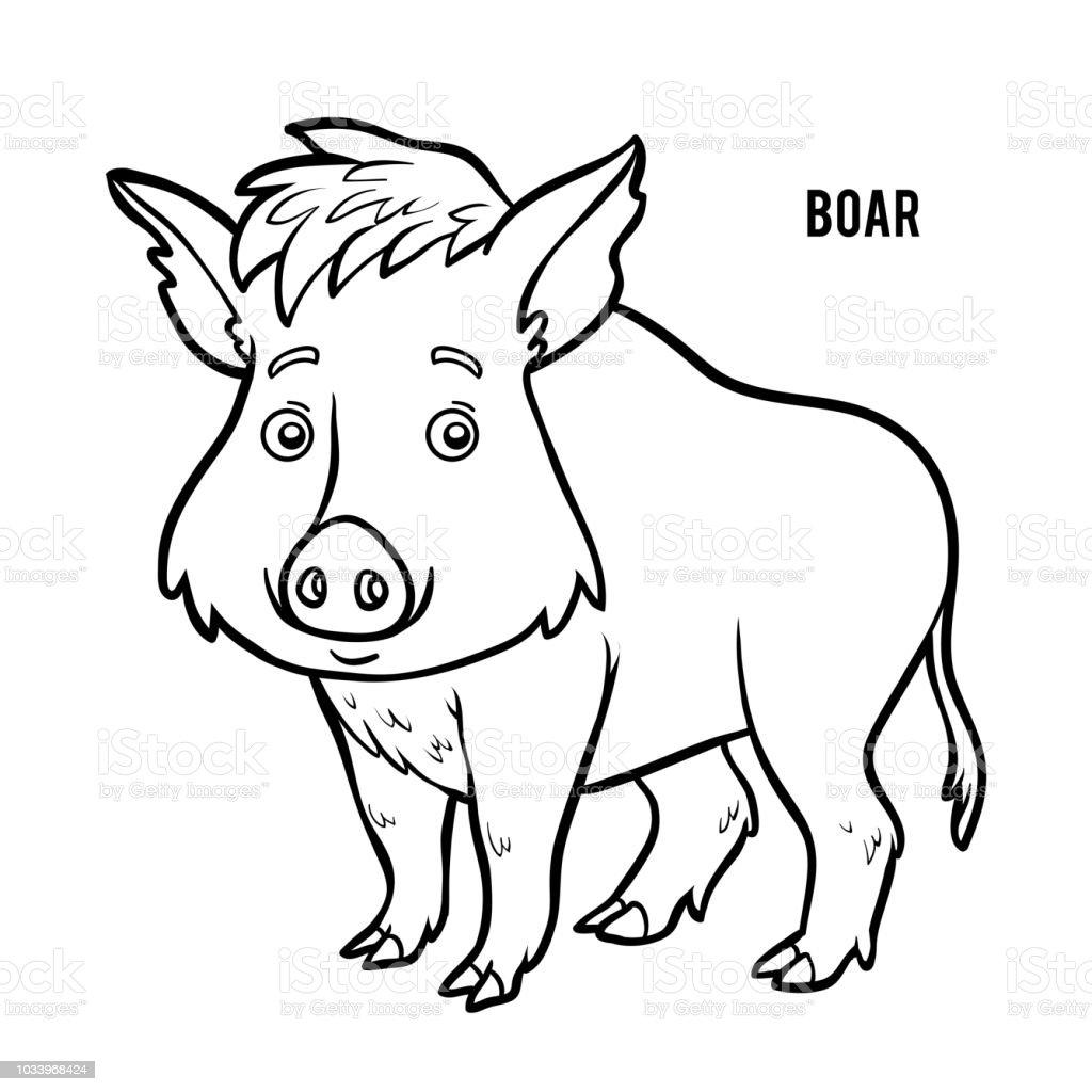 wildschwein zum ausmalen  vorlagen zum ausmalen gratis