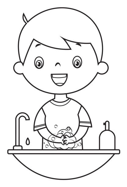 98 371 Coloring Pages Illustrations Clip Art Istock