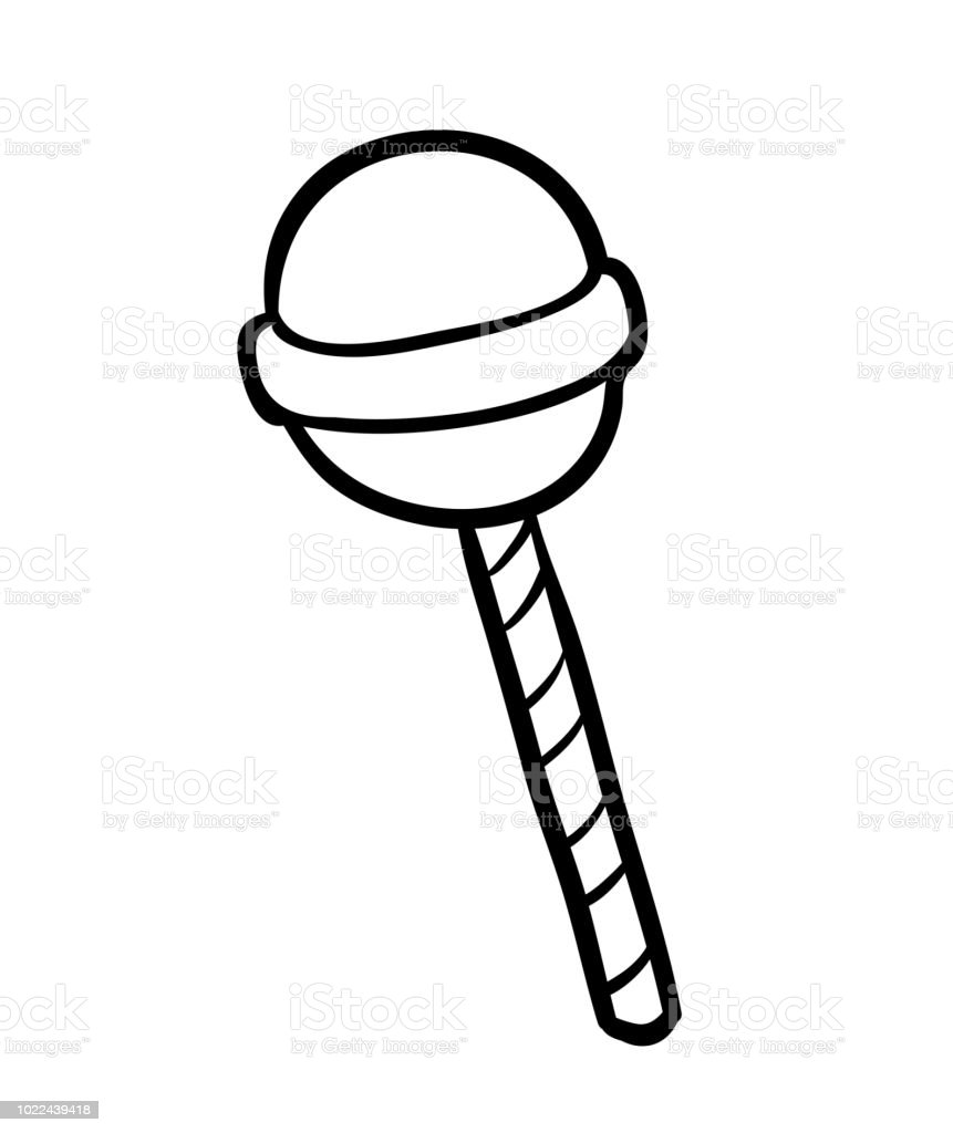 Coloring Book Candy Stock Illustration Download Image Now Istock