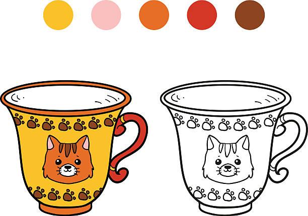 Royalty Free Cat Mug Clip Art Vector Images Illustrations