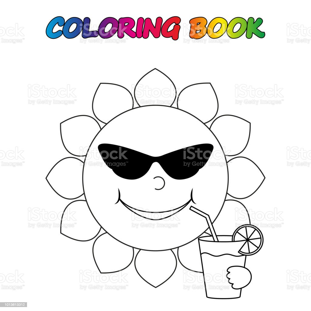 Ilustracion De Libro Para Colorear Pagina Para Colorear De Educar