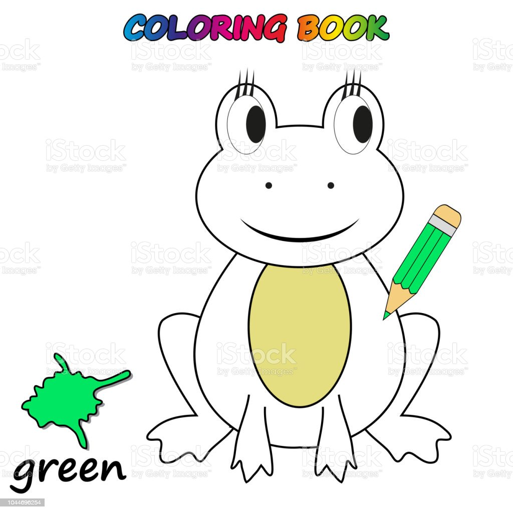 Coloring Book Coloring Page To Educate Preschool Kids Game For
