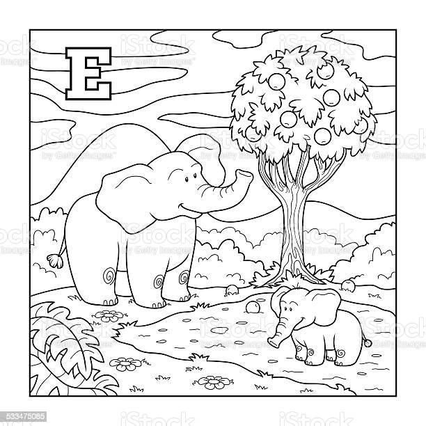 Coloring book colorless alphabet for children lette vector id533475085?b=1&k=6&m=533475085&s=612x612&h=u9ydajj di7nafleif nh0y5c8 ai9byoltbmeybfzu=