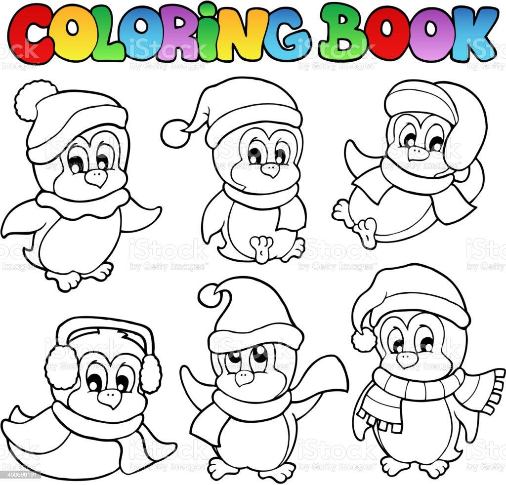 Desenhos De Pinguins Para Colorir