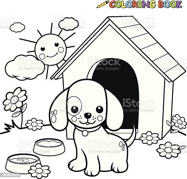 Coloring book dog outside doghouse vector id505699939?b=1&k=6&m=505699939&s=612x612&h=lsfp8gbaxmcxesp0nmcmhllhjnjrjhb01bvpsgnxnrk=