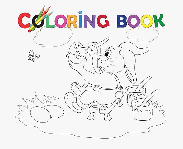 Vectores de Plantillas De Libros Para Colorear y Illustraciones ...