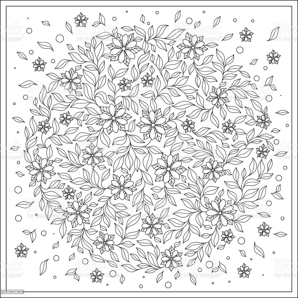 Coloring book for adult and older children. royalty-free coloring book for adult and older children stock vector art & more images of adult
