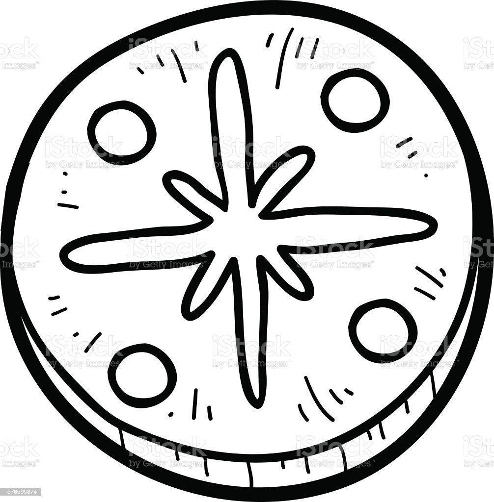 Magnífico Oreo Cookie Para Colorear Ornamento - Dibujos Para ...