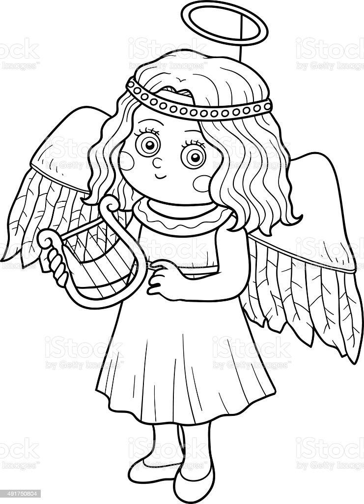 Ilustración de Libro Para Colorear Con Los Niños Halloween ...