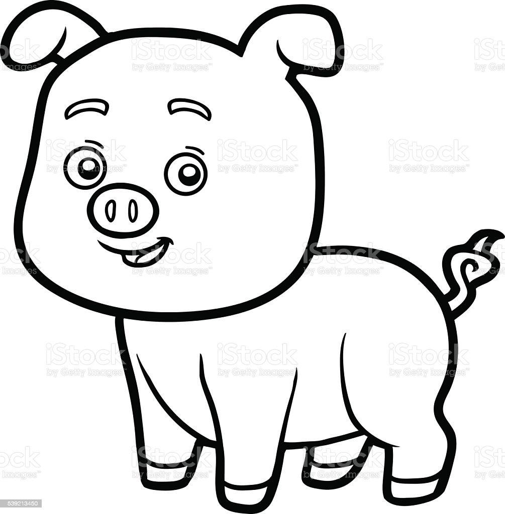 539213450 istock for Maialino disegno per bambini
